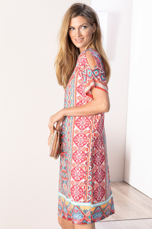 Grace Hill Spring Knit Dress