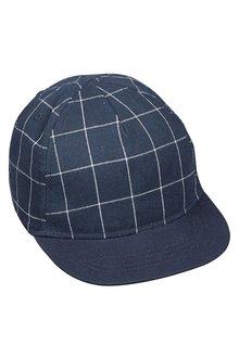 Next Grid Check Cap (Older Boys)