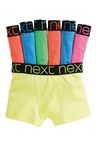 Next Fluro Trunks Seven Pack (2-16yrs)