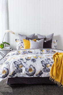 Paris Poppy Duvet Cover Set