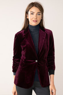 Capture Velvet Blazer