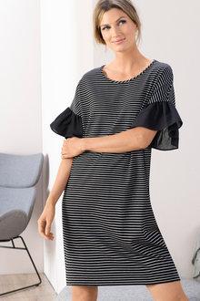 Grace Hill Ruffle Sleeve Dress - 198442