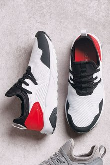 Next Elastic Lace Trainers (Older Boys)
