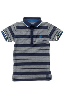 Next Striped Tipped Polo (3-16yrs)