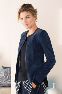 Grace Hill Zip Front Jacket