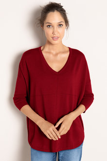 Emerge V Neck Merino Tunic