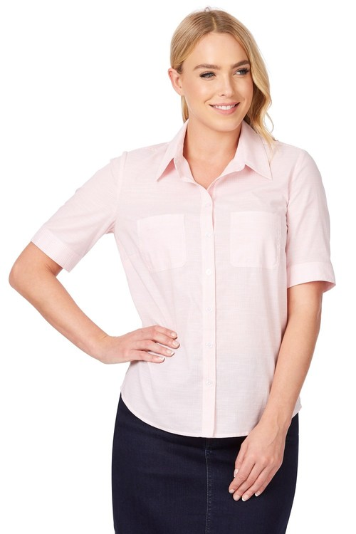 Noni B Vera Self Design Shirt