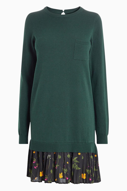 597446577f7 Next Woven Hem Jumper Dress - Tall Online