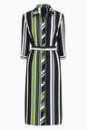 Next Stripe Shirt Dress - Tall