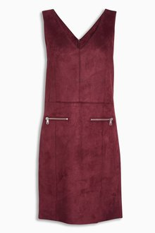 Next Suedette Pinny Dress
