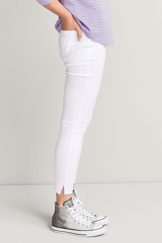adb19036defa2 Next Jersey Denim Cropped Leggings - Petite Online | Shop EziBuy