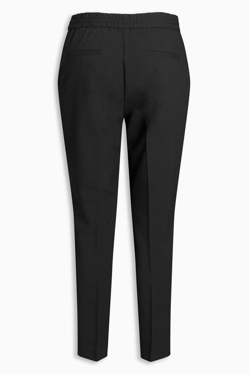 Next Neppy Herringbone Taper Trousers