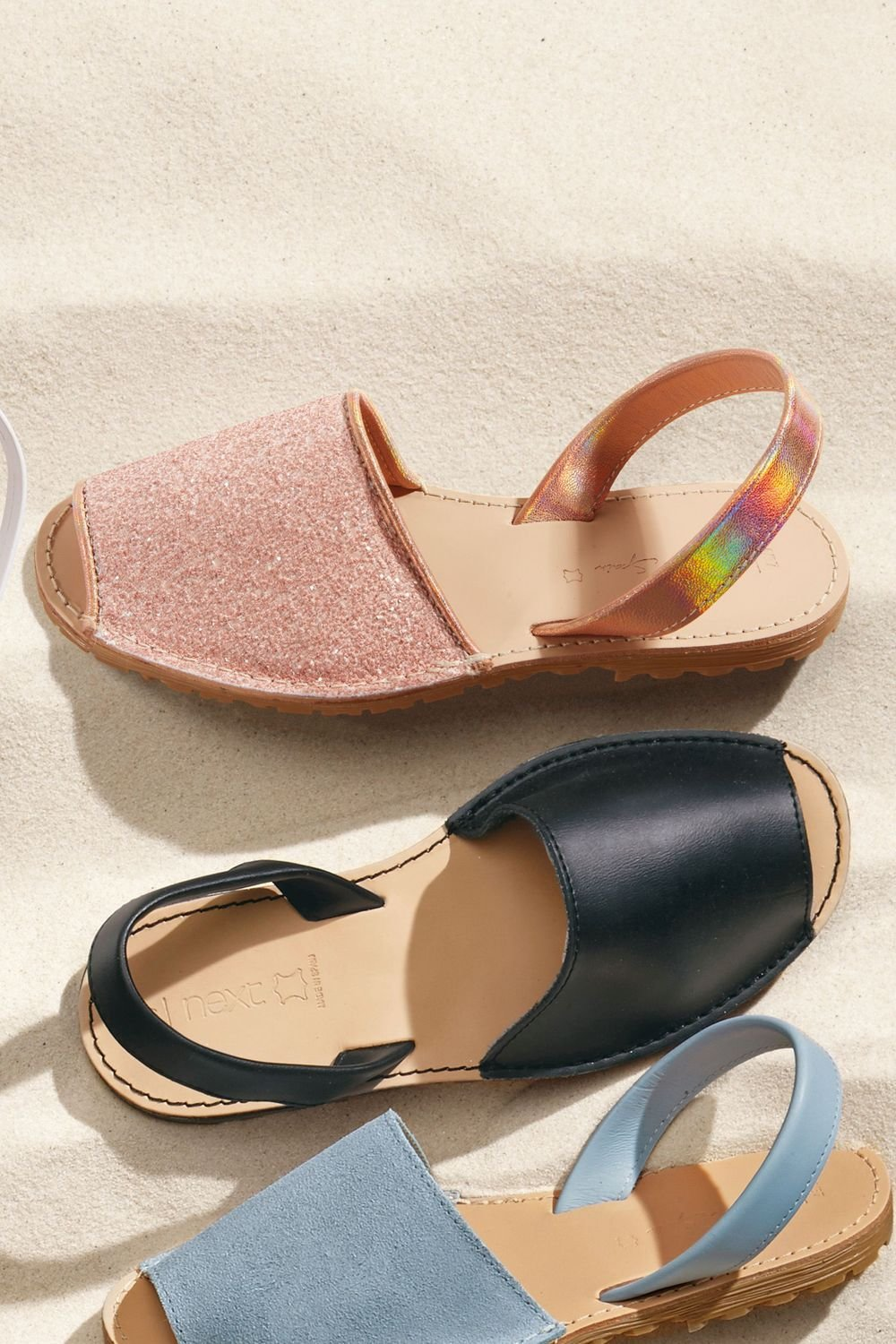 5660ec7ea8e0 Next Glitter Beach Sandals Online