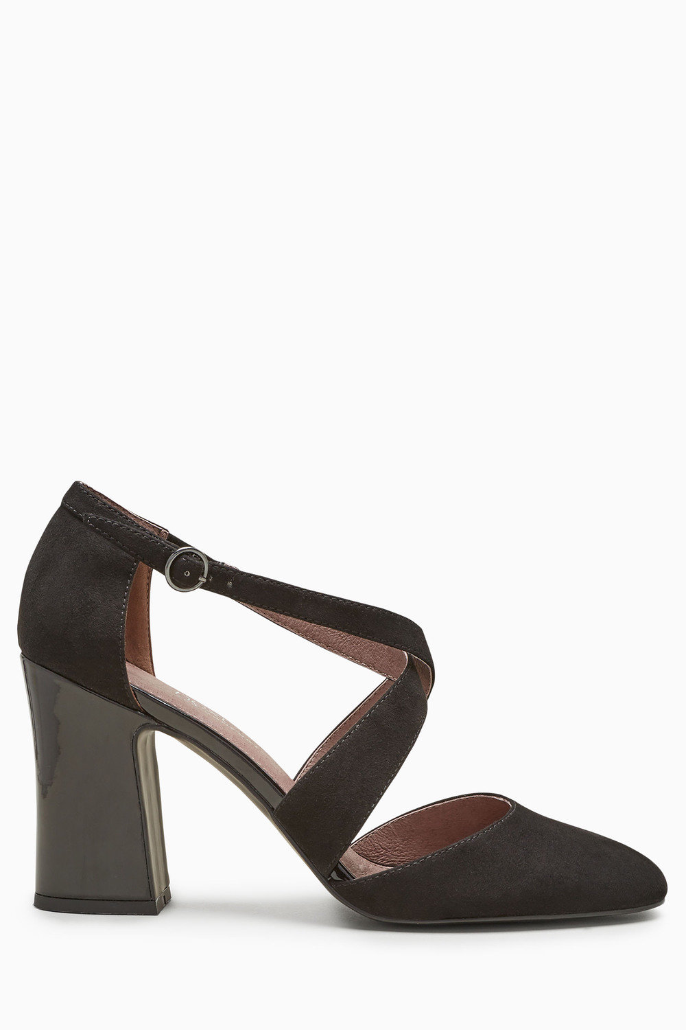 f4a94d6322a Next Two Part Cross Block Heel Shoes Online