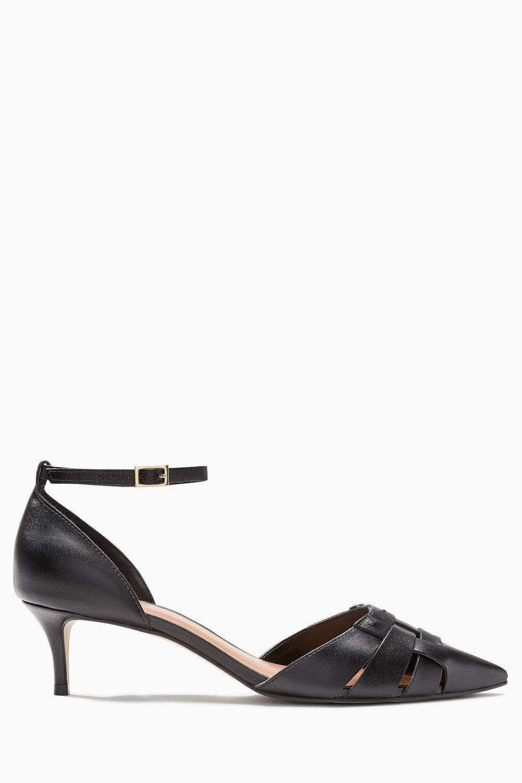9c83d7504ec Next Leather Weave Kitten Heels Online | Shop EziBuy