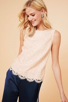 Next Lace Shell Top - 198998