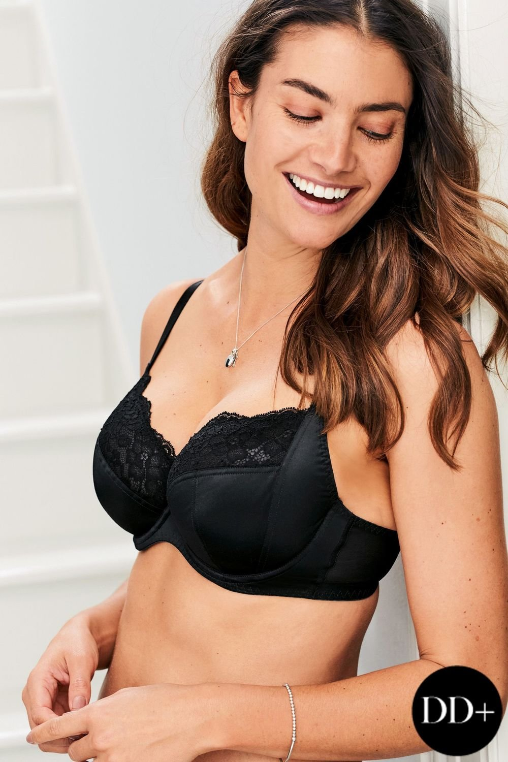 30c594ac9a Next DD+ Georgie Non Padded Wired Full Cup Bras Two Pack Online ...