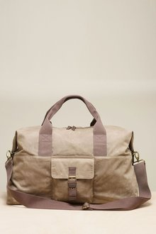 Next Waxed Messenger Holdall