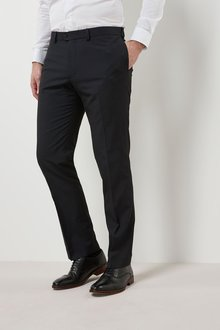 Next Striped Trousers - Slim Fit