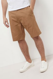 Next Long Length Chino Shorts