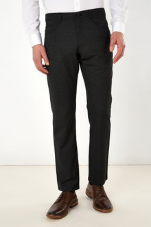 Next Slim Fit Wool Trousers