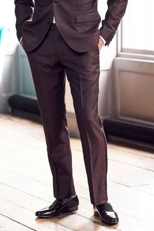 Next Signature Tuxedo Slim Fit Suit: Trousers