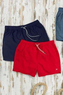 Next Swim Shorts Two Pack