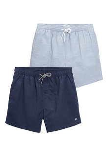 Next Swim Shorts Two Pack