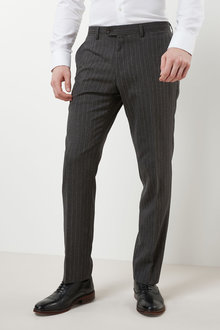 Next Signature Stripe Tailored Fit Suit: Trousers