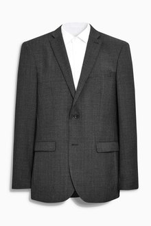 Next Signature Check Regular Fit Suit: Jacket