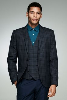 Next Check Skinny Fit Suit: Jacket