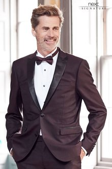 Next Signature Tuxedo Slim Fit Suit: Jacket