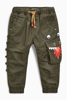 Next Lined Dragon Pull-On Trousers (3mths-6yrs)