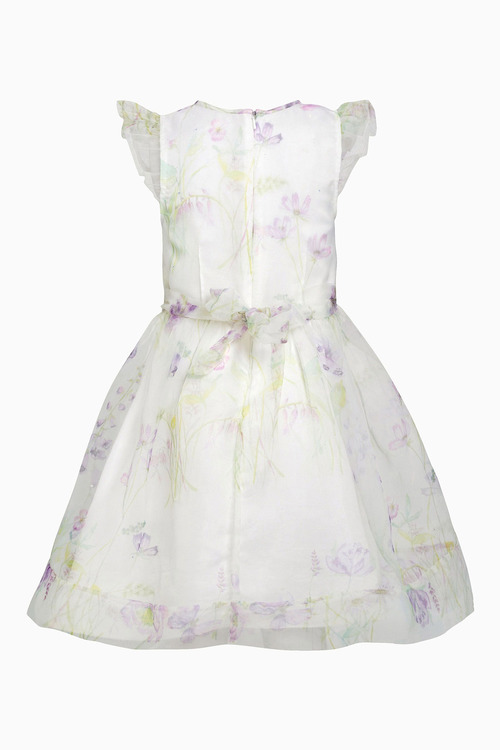Next Organza Printed Prom Dress (3-14yrs)