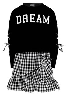 Next Slogan Sweater And Dress Set (3-16yrs)