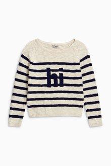 Next Breton Stripe Sweater (3-16yrs)
