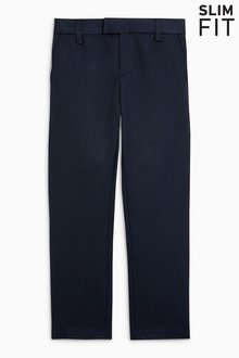 Next Formal Trousers (3-16yrs) - Slim Fit