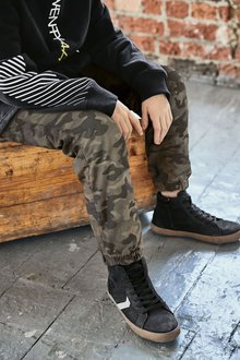 Next Lined Pull-On Joggers (3-16yrs)