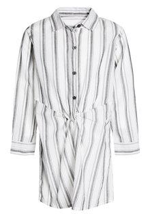 Next Stripe Knot Front Longline Shirt (3-16yrs)