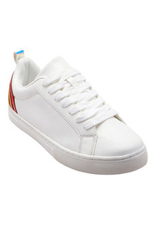 Next Rainbow Lace-Up Trainers (Older Girls)