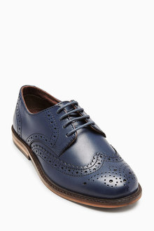 Next Leather Brogues (Older Boys) - 199695
