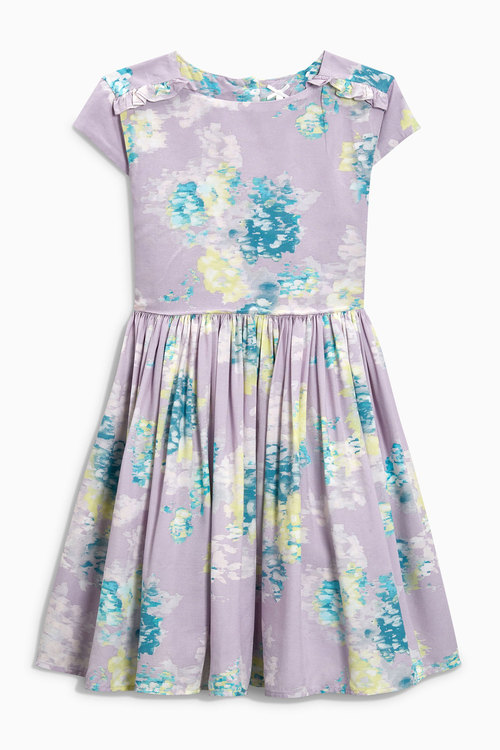 Next Soft Floral Prom Dress (3-16yrs)