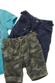 Next Cargo Shorts (3-16yrs)