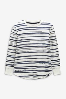 Next Long Sleeve Stripe Top (3-16yrs)