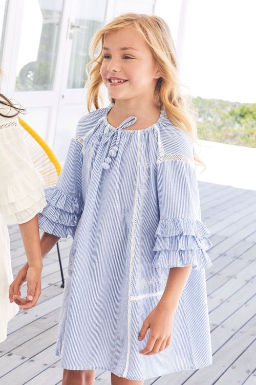 Next Ruffle Dress (3-16yrs)