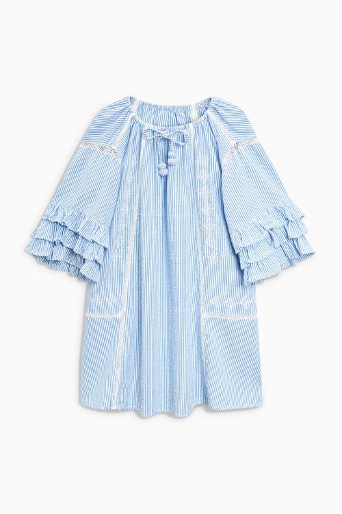 Next Ruffle Dress (3-16yrs)