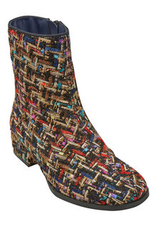 Next Textured Square Toe Boots (Older Girls)