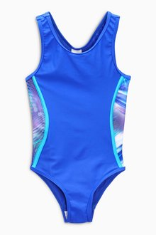Next Panelled Sport Swimsuit (3-16yrs)