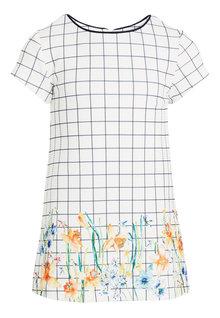Next Grid Check Ponte Dress (3mths-6yrs)