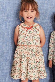 Next Zoo Print Dress (3mths-6yrs)